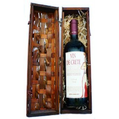 Červené víno v dárkové krabičce
