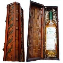 Bílé víno v dekorativní krabičce