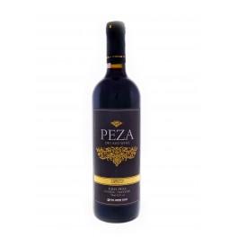 Červené suché víno Peza 2012
