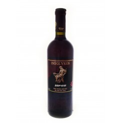 Imiglykos červené polosladké víno 750ml