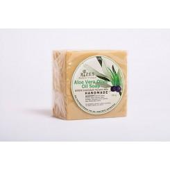 Aloe vera olivové mýdlo ruční výroby 200g