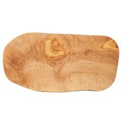 Krájecí kuchyňské prkénko nepravidelné z olivového dřeva 30 cm