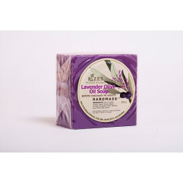 Levandulové olivové mýdlo ruční výroby 200g