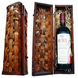 Dárková krabička na víno (bez vína)